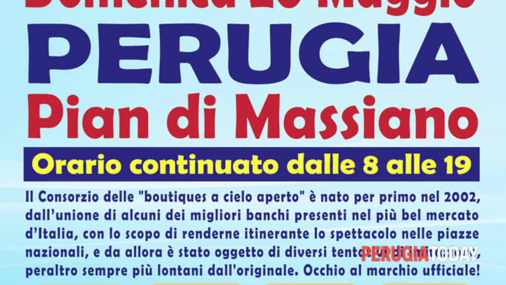 Mercato Forte Dei Marmi Calendario 2020.Attesissimi Gli Ambulanti Di Forte Dei Marmi A Perugia