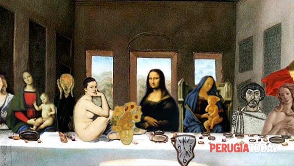 Una cena tra i quadri pi belli dell 39 umbria quando il for Quadri belli